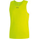 GORE WEAR R5 Running Shirt sleeveless Men yellow